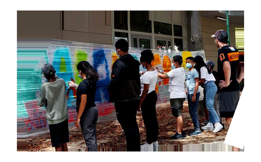 Grafiti Malakoff